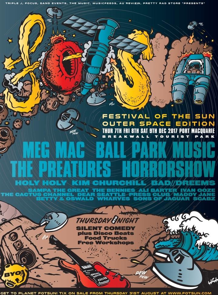 The Cactus Channel @ Festival Of The Sun - Port Macquarie, Australia