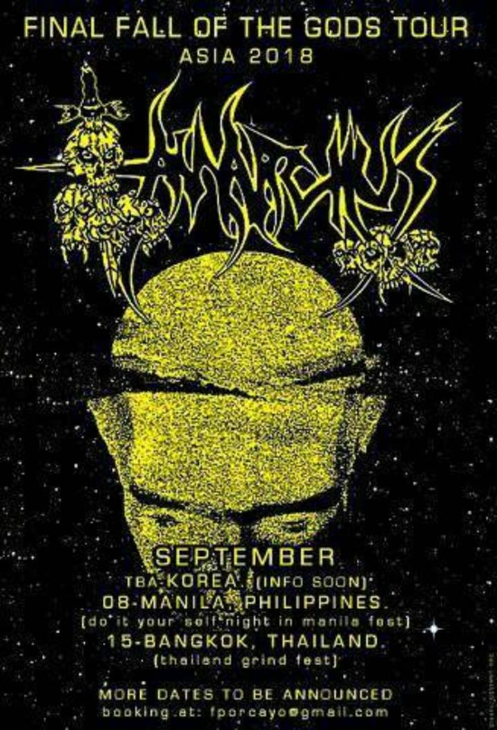 Anarchus Tour Dates
