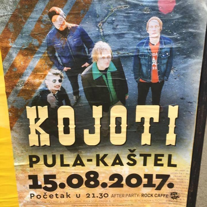 Kojoti Tour Dates