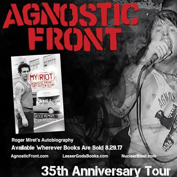 Agnostic Front @ High Dive - Gainesville, FL