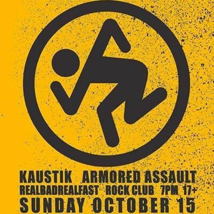 Armored Assault Tour Dates