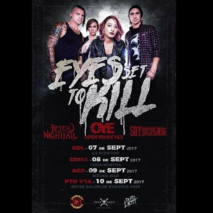 Open Your Eyes Tour Dates
