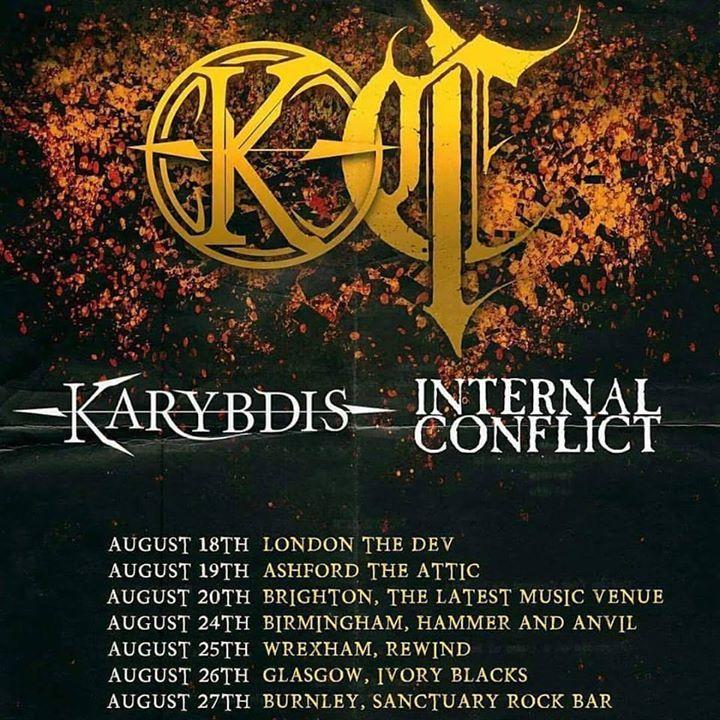 Internal Conflict Tour Dates
