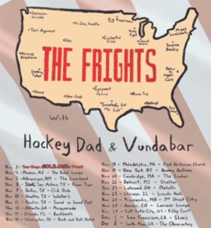 The Frights @ Sherwood Forest - Mcdade, TX