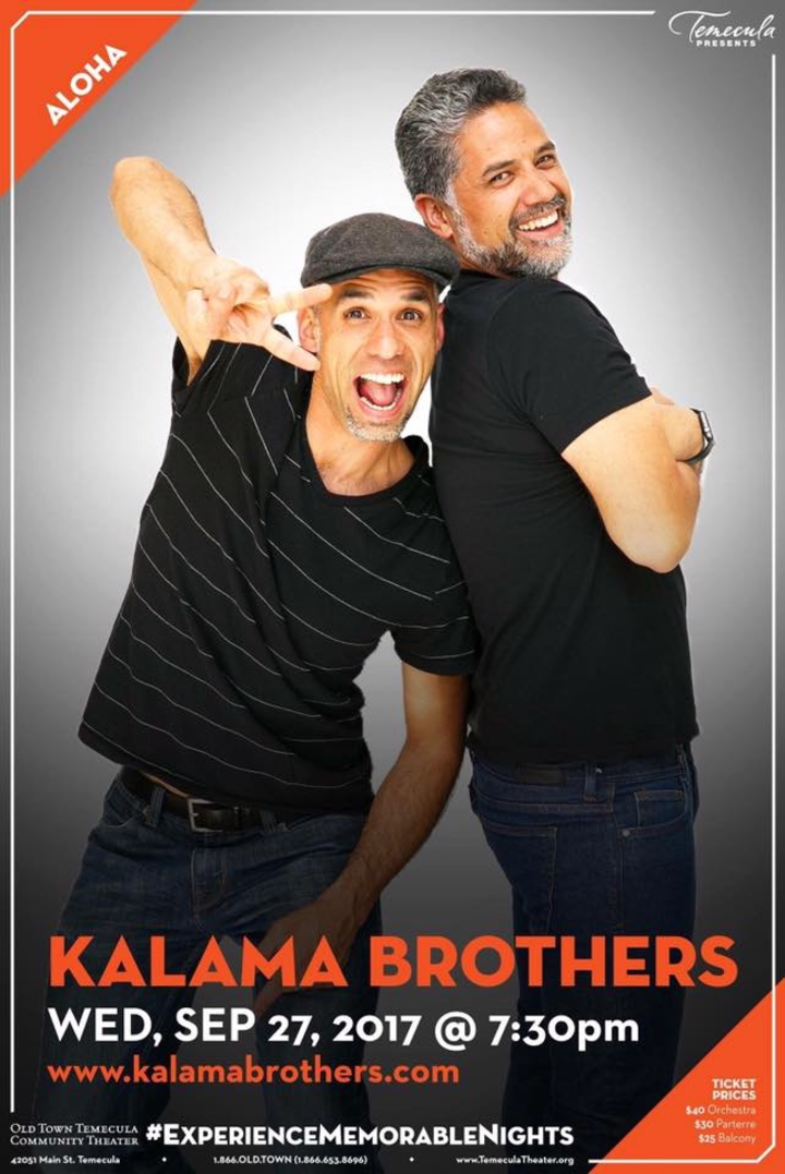 Kalama Brothers @ Old Town Temecula Community Theater - Temecula, CA