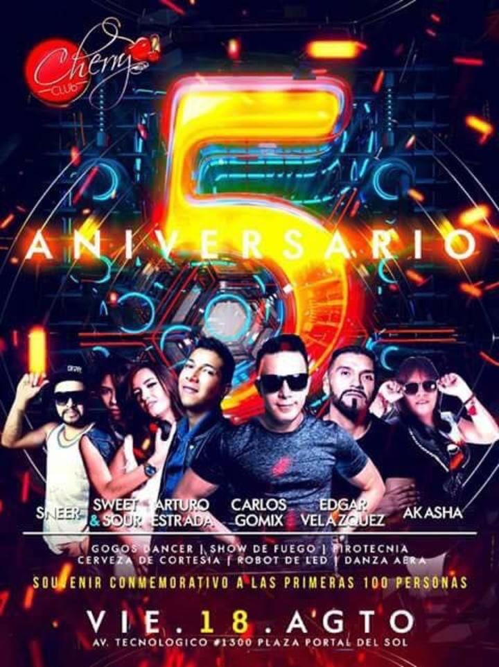 DJ EDGAR VELAZQUEZ @ Cherry Club - Toluca, Mexico
