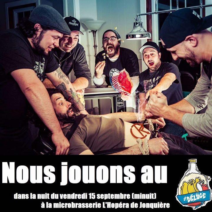 Crash ton rock @ Coop Katacombes - Montreal Metro Area, Canada