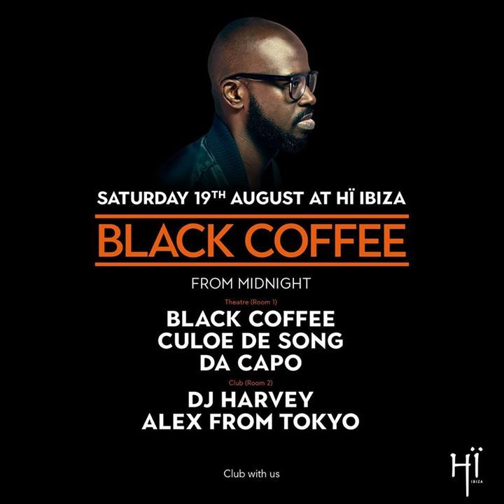 Black Coffee Tour Dates