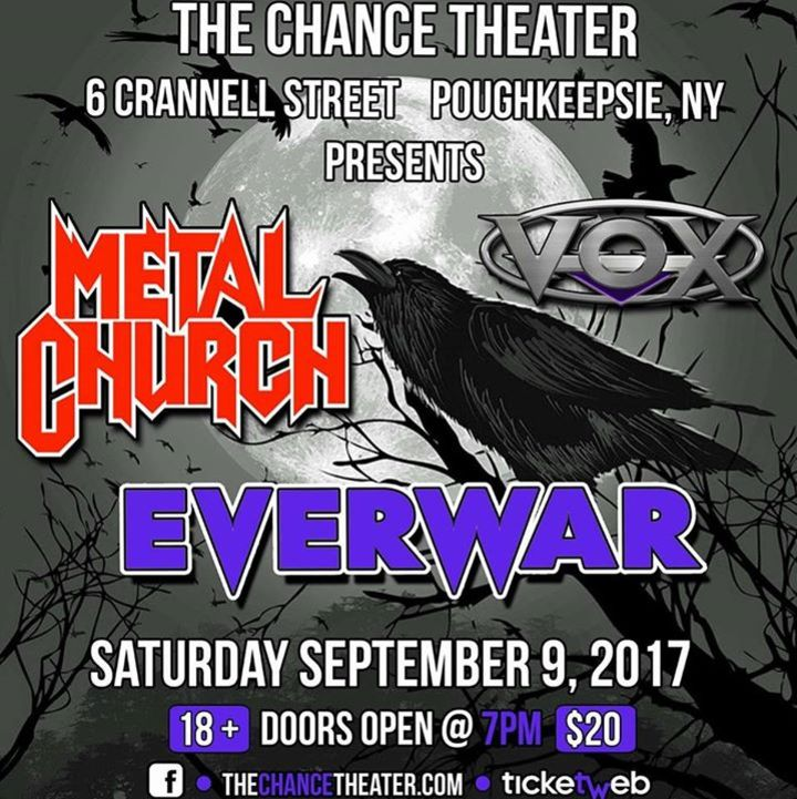 Everwar Tour Dates