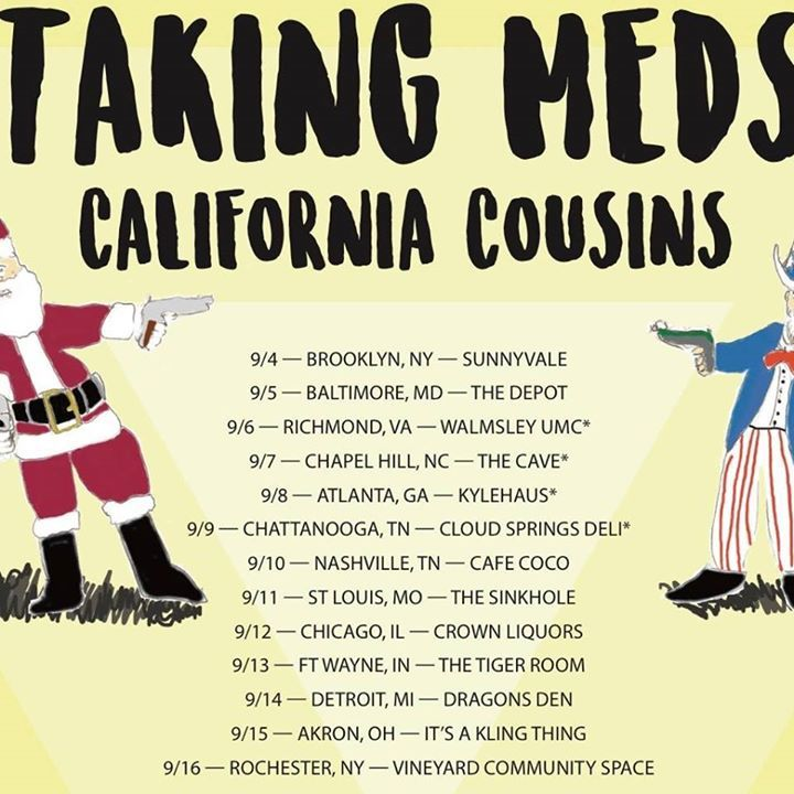 Taking Meds Tour Dates