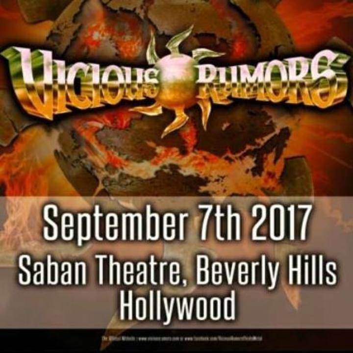 Vicious Rumors Tour Dates