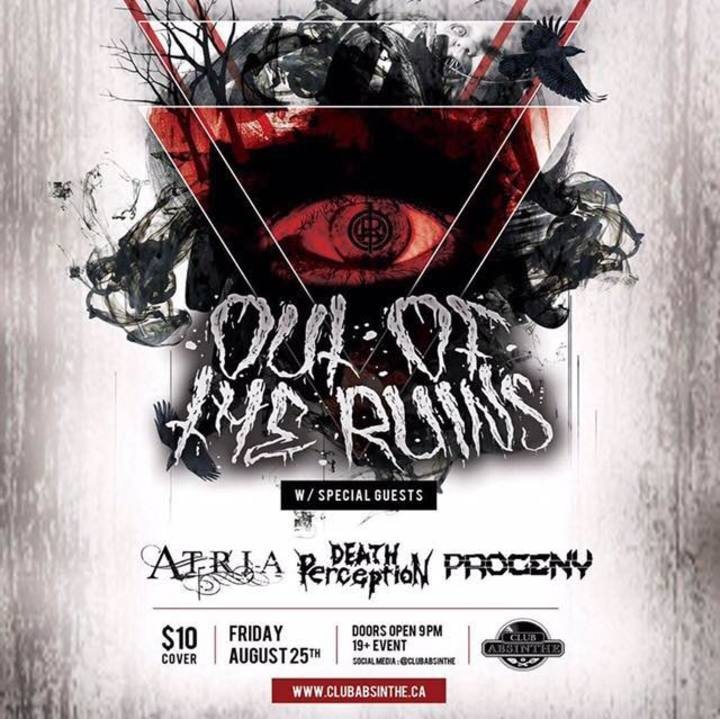 Out Of The Ruins Tour Dates