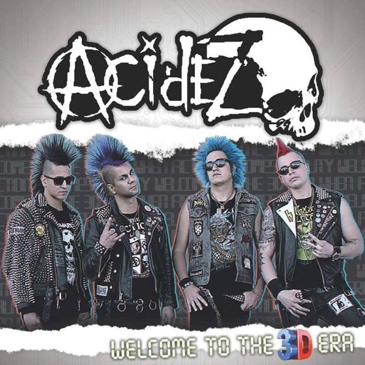 Acidez Tour Dates