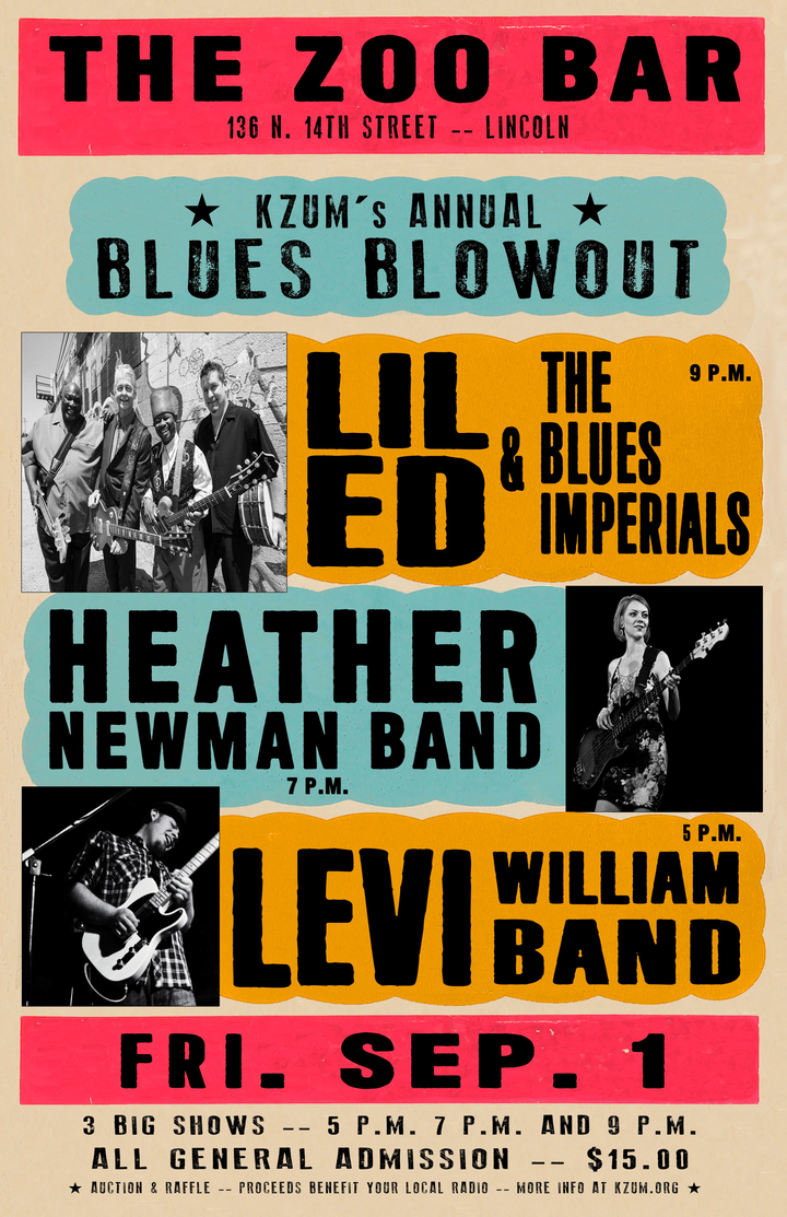 Lil' Ed & The Blues Imperials @ Zoo Bar - Lincoln, NE