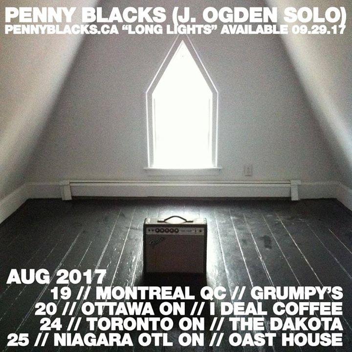Penny Blacks Tour Dates