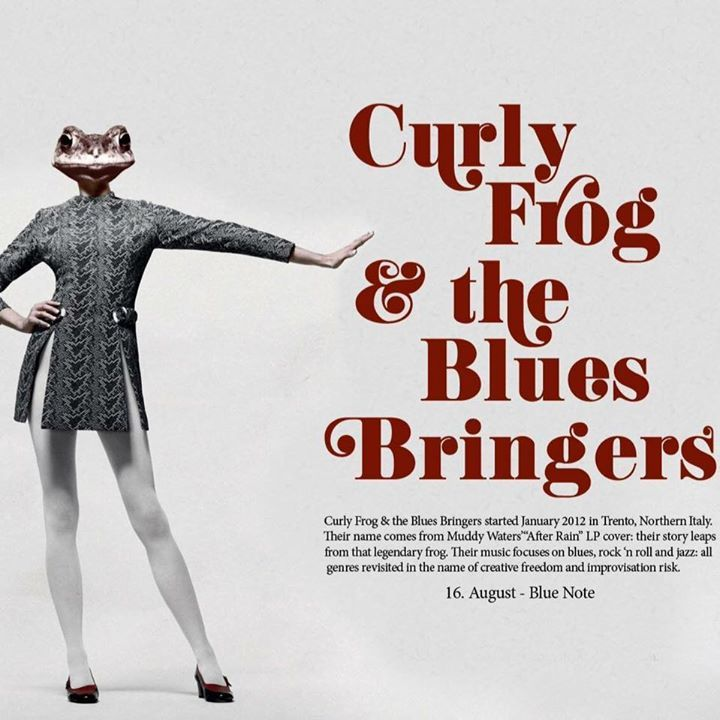 Curly Frog & the Blues Bringers Tour Dates