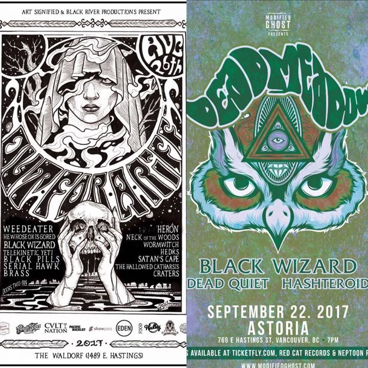 Black Wizard Tour Dates