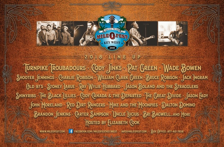 Brandon Jenkins @ Mile 0 Fest Key West - Key West, FL