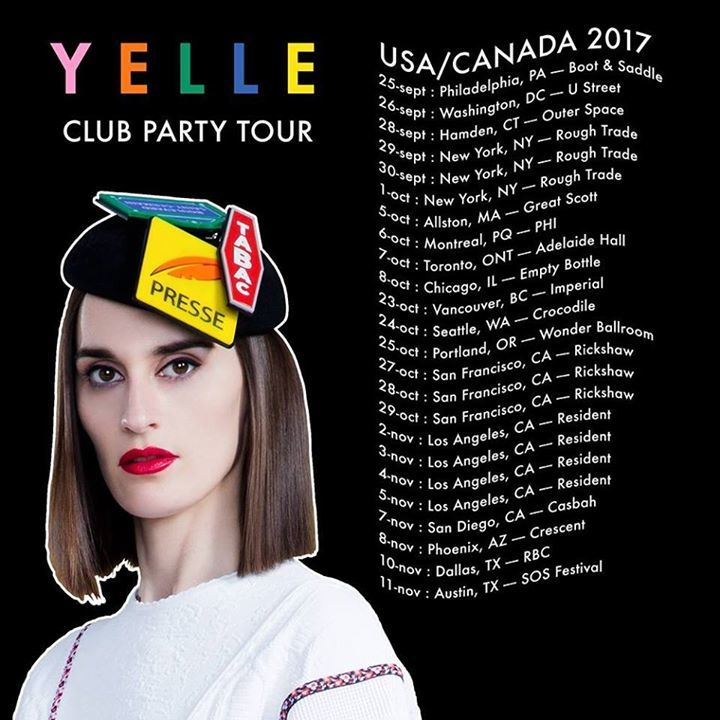 Yelle @ Rough Trade - Brooklyn, NY