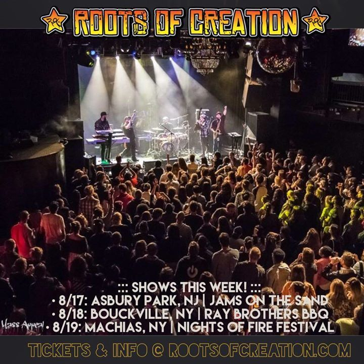 Roots Of Creation @ The Pourhouse Music Hall - Raleigh, NC