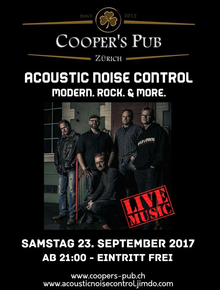 Acoustic Noise Control @ Acoustic Noise Control - Live at Cooper's Pub - Zurich, Switzerland