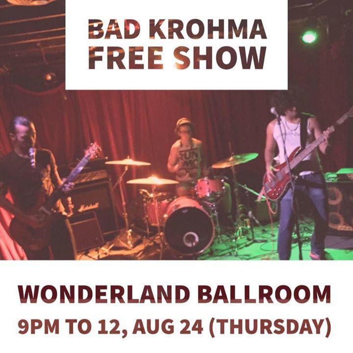 Bad Krohma Tour Dates