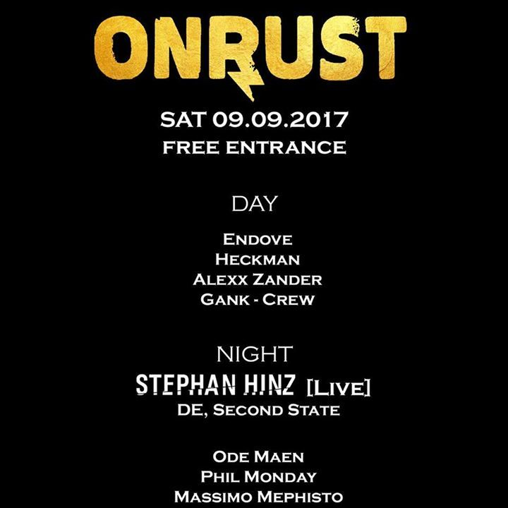Onrust Tour Dates
