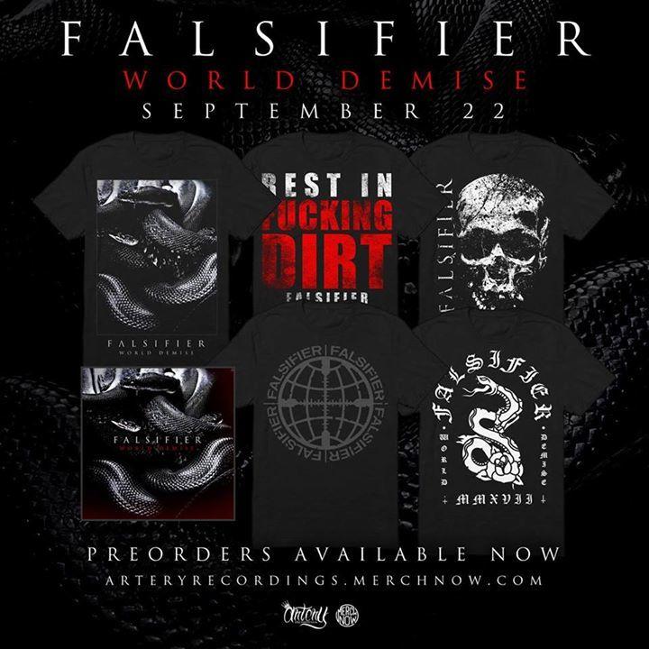Falsifier Tour Dates