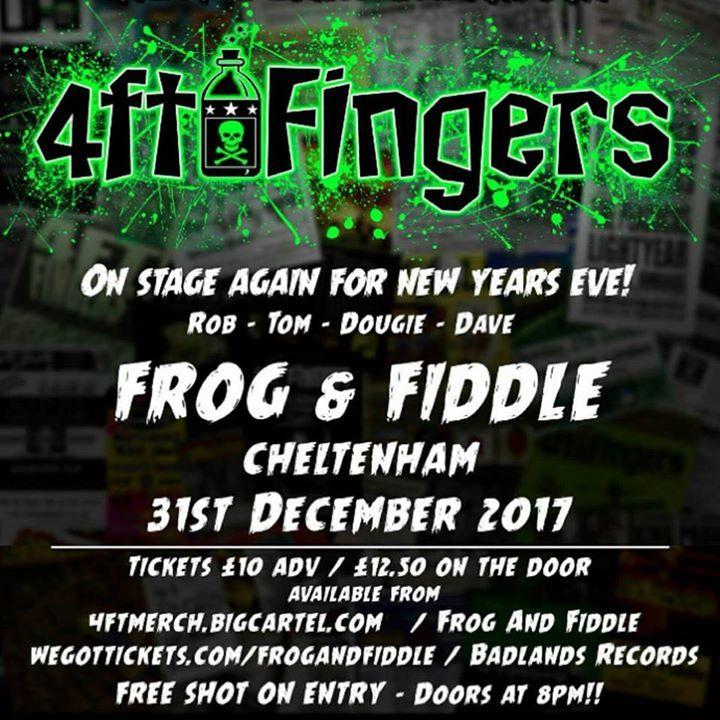 4FT Fingers Tour Dates