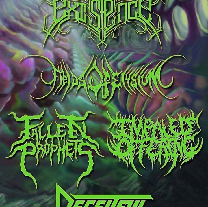Fields Of Elysium Tour Dates