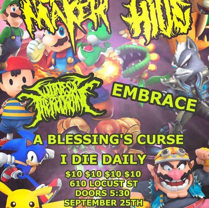 A Blessing's Curse Tour Dates