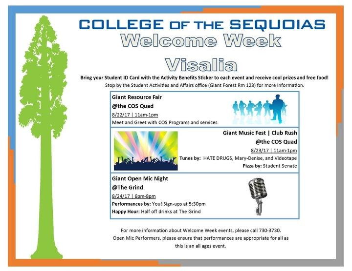 Videotape - CA @ College of the Sequoias  - Visalia, CA