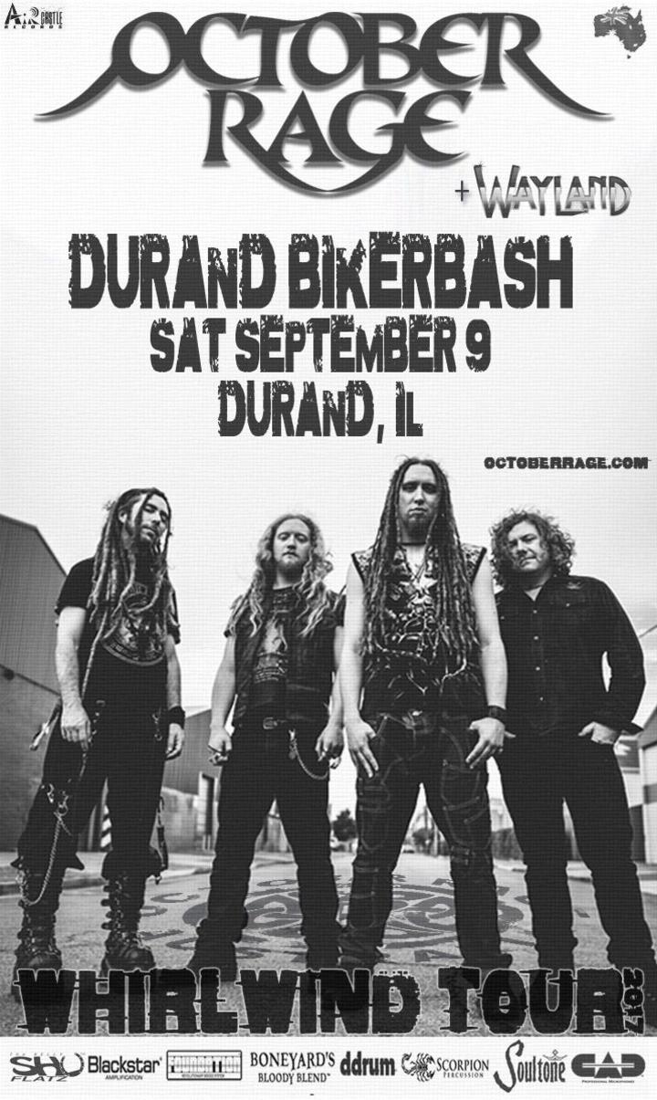 October Rage @ Durand Biker Bash - Durand, IL