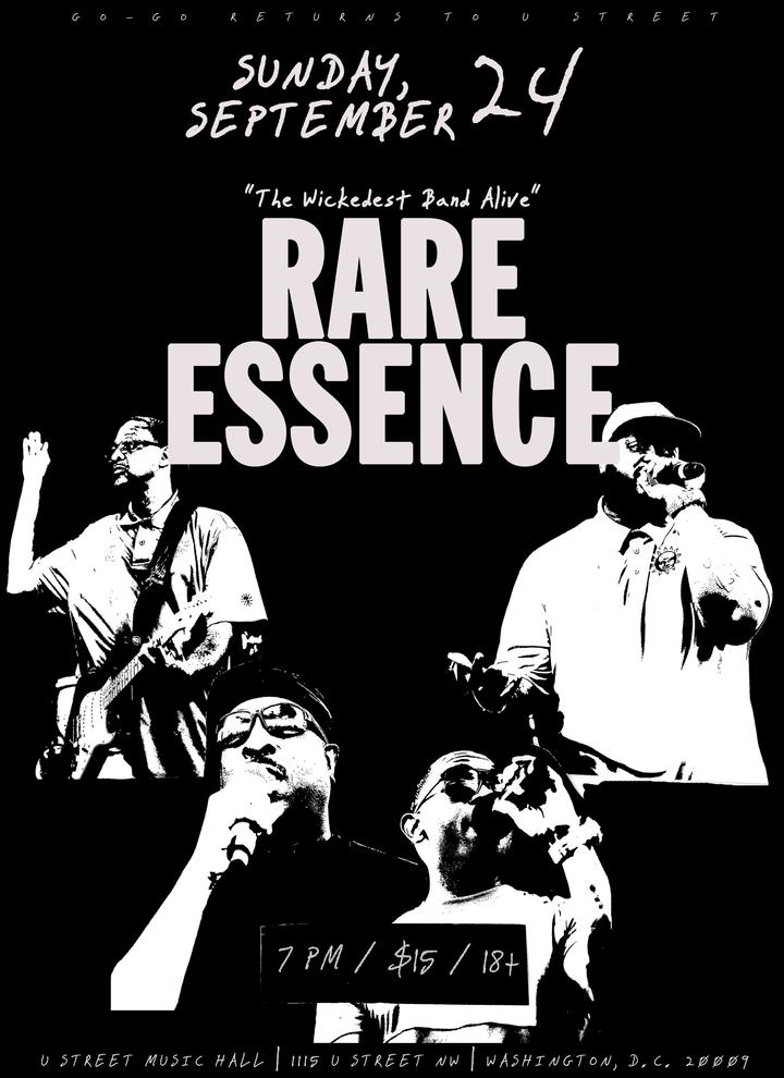 Rare Essence @ U Street Music Hall - Washington, DC