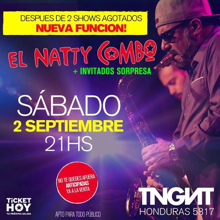 El Natty Combo @ La Tangente - Buenos Aires City, Argentina