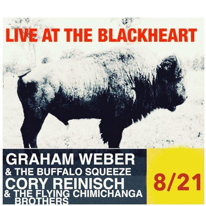 Graham Weber & The Buffalo Squeeze Tour Dates