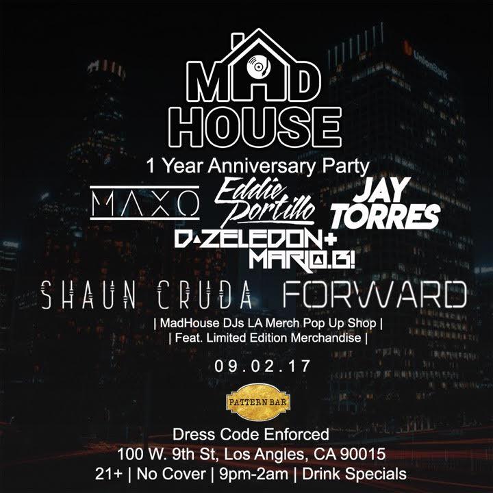 Madhouse Djs Tour Dates