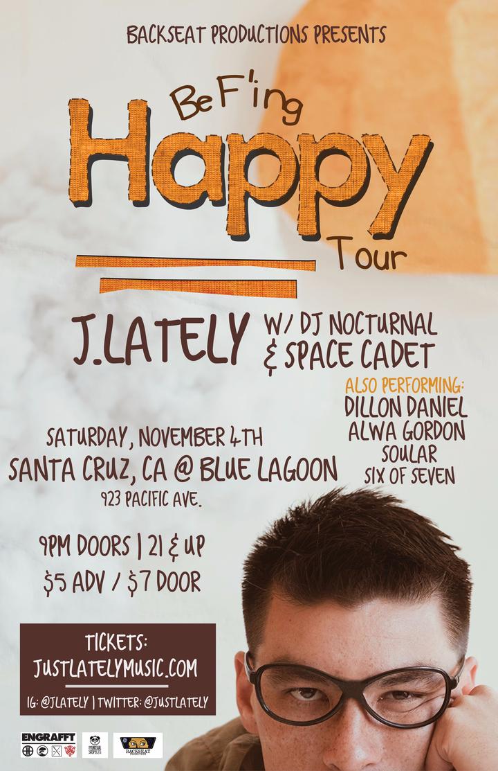 J.Lately @ Blue Lagoon - Santa Cruz, CA