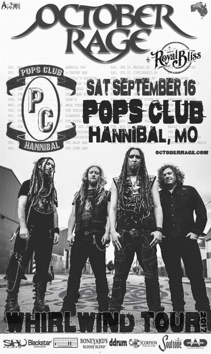 October Rage @ Pop's Club - Hannibal, MO