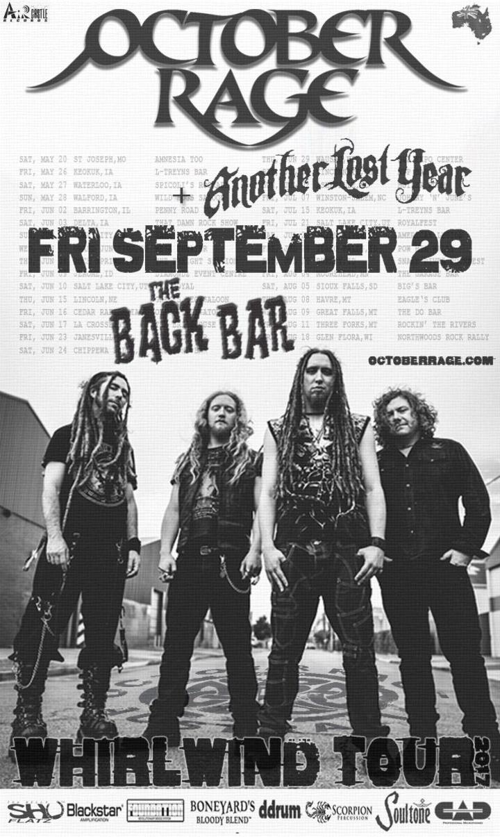 October Rage @ The Back Bar - Janesville, WI