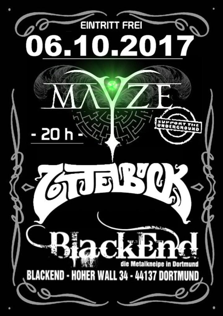 Mayze @ Blackend - Dortmund, Germany