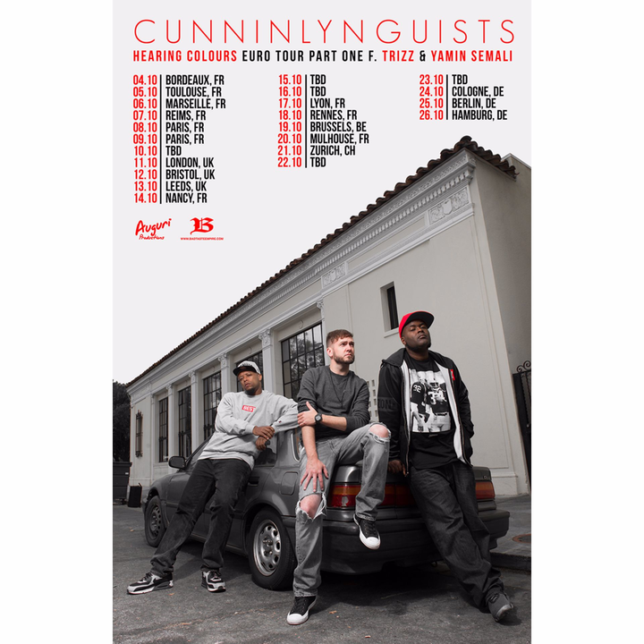 CunninLynguists @ LE MOULIN CLUB - Marseille, France