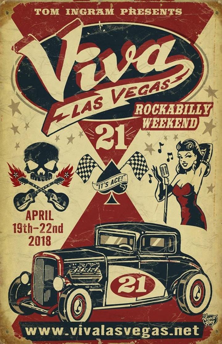 Crazy Man Crazy @ VIVA LAS VEGAS ROCKABILLY WEEKEND 21! - Las Vegas, NV