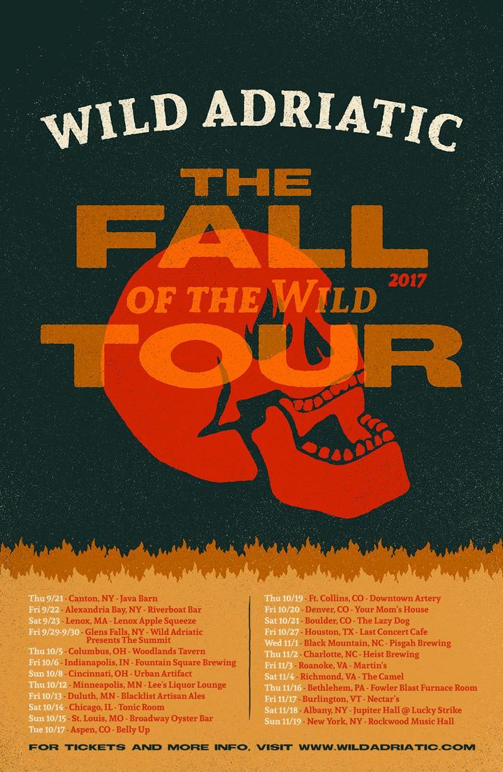 Wild Adriatic Tour Dates
