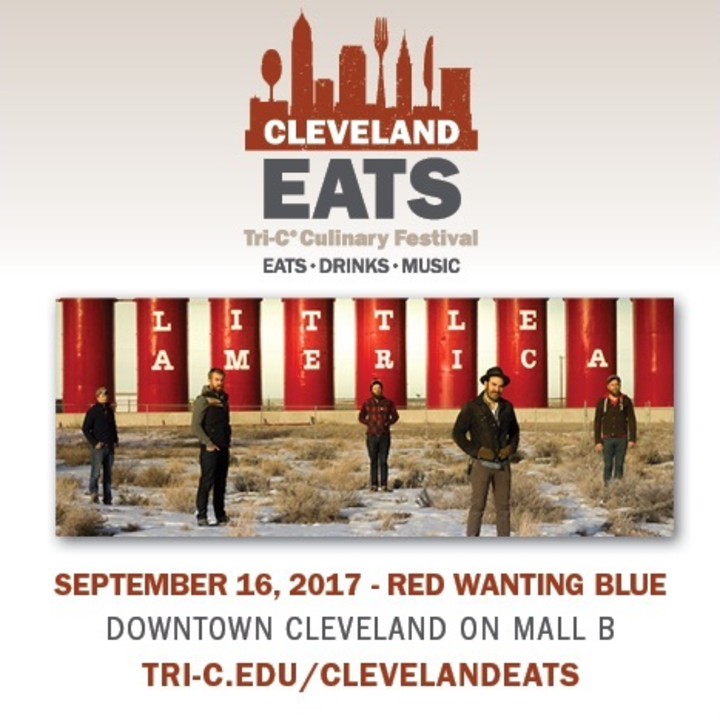 Red Wanting Blue @ Cleveland Eats Festival - Cleveland, OH