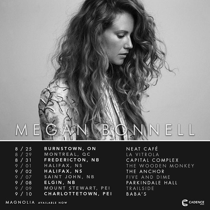 Megan Bonnell Tour Dates