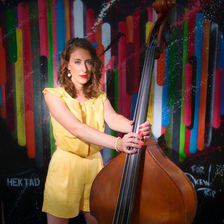 Georgia Weber Double Bassist @ The Way Station - Brooklyn, NY