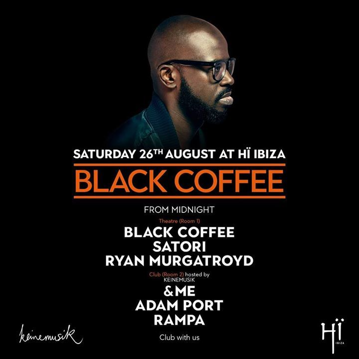 Black Coffee @ Hï Ibiza - Ibiza, Spain