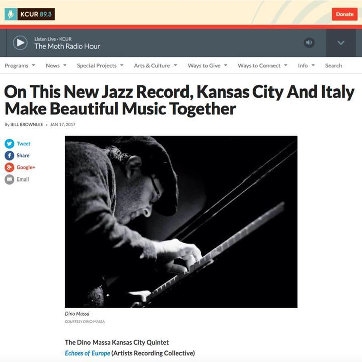 Dino Massa Kansas City Quintet Tour Dates