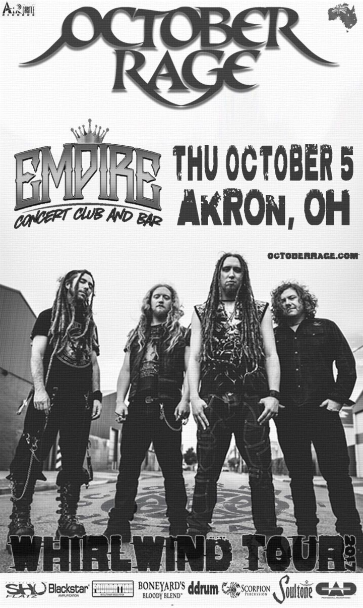 October Rage @ The Empire - Akron, OH